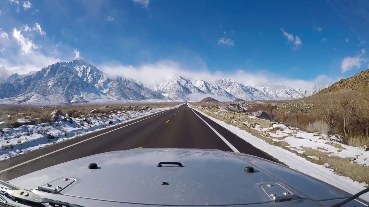 Death Valley and Lone Pine driving - YouTube