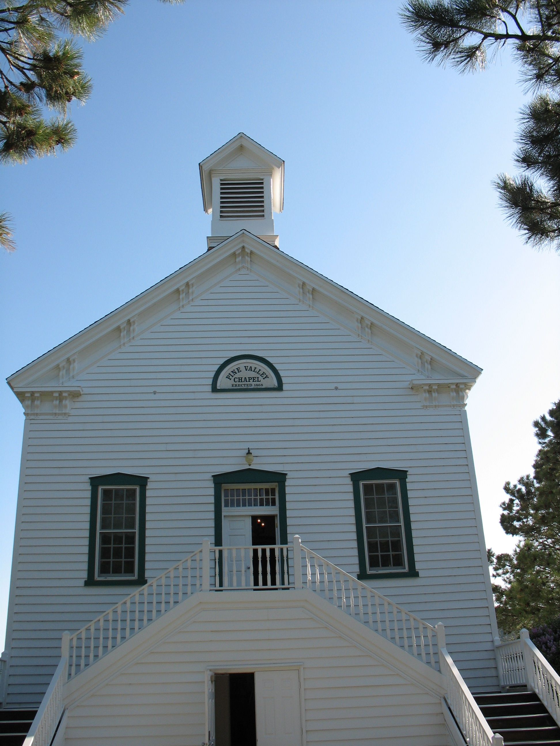 Pine Valley Chapel, Utah. Longest continuous chapel in use ...