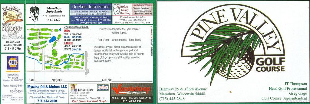 Pine Valley Golf Course - Course Profile   Course Database