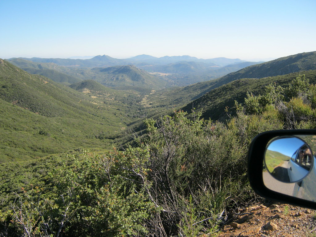 VIEW OF PINE VALLEY, CA FROM THE PINE CREEK ROAD | THE ...