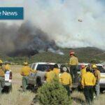 Pine Valley Fire June 2018