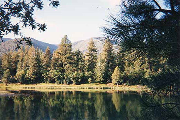 Pine Valley Reservoir