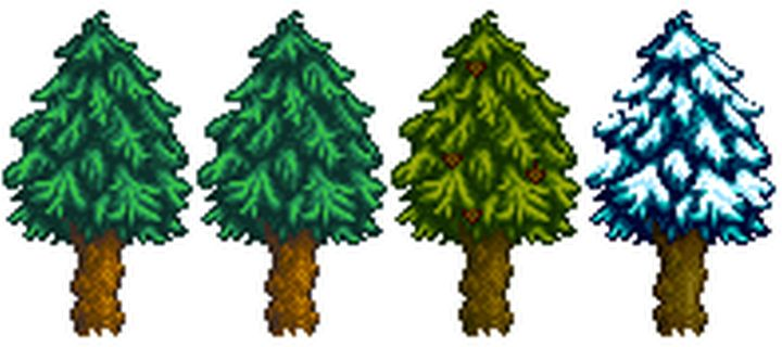 Stardew Valley: Planting Trees and Using Tappers