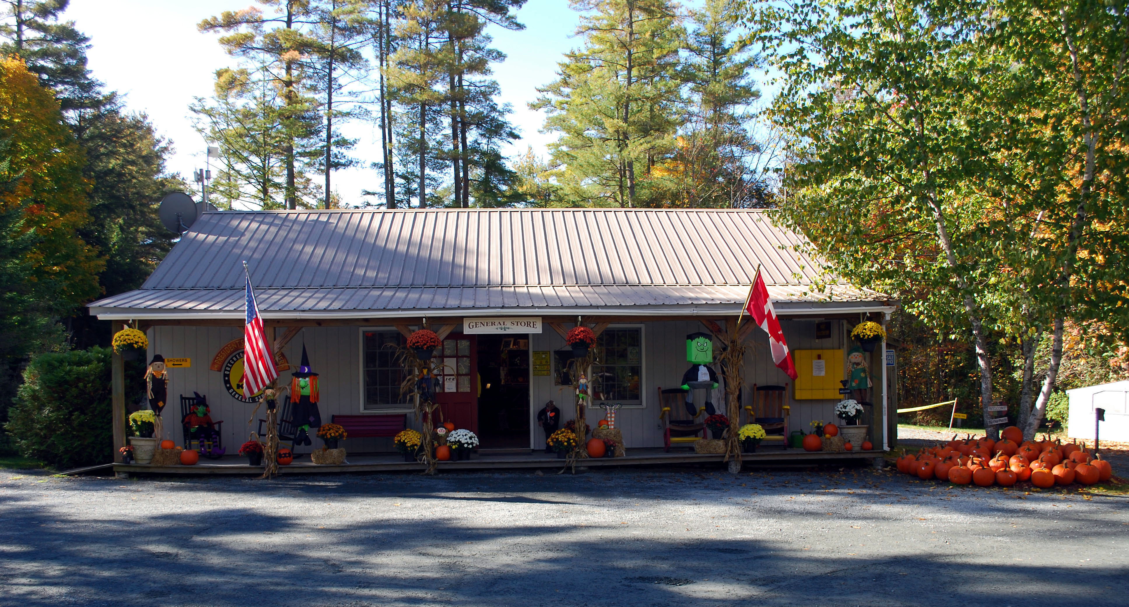 Quechee / Pine Valley KOA Holiday, White River Junction ...