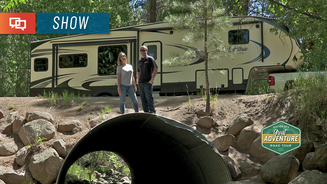 Great Adventure Road Tour: Pine Valley Recreation Area ...