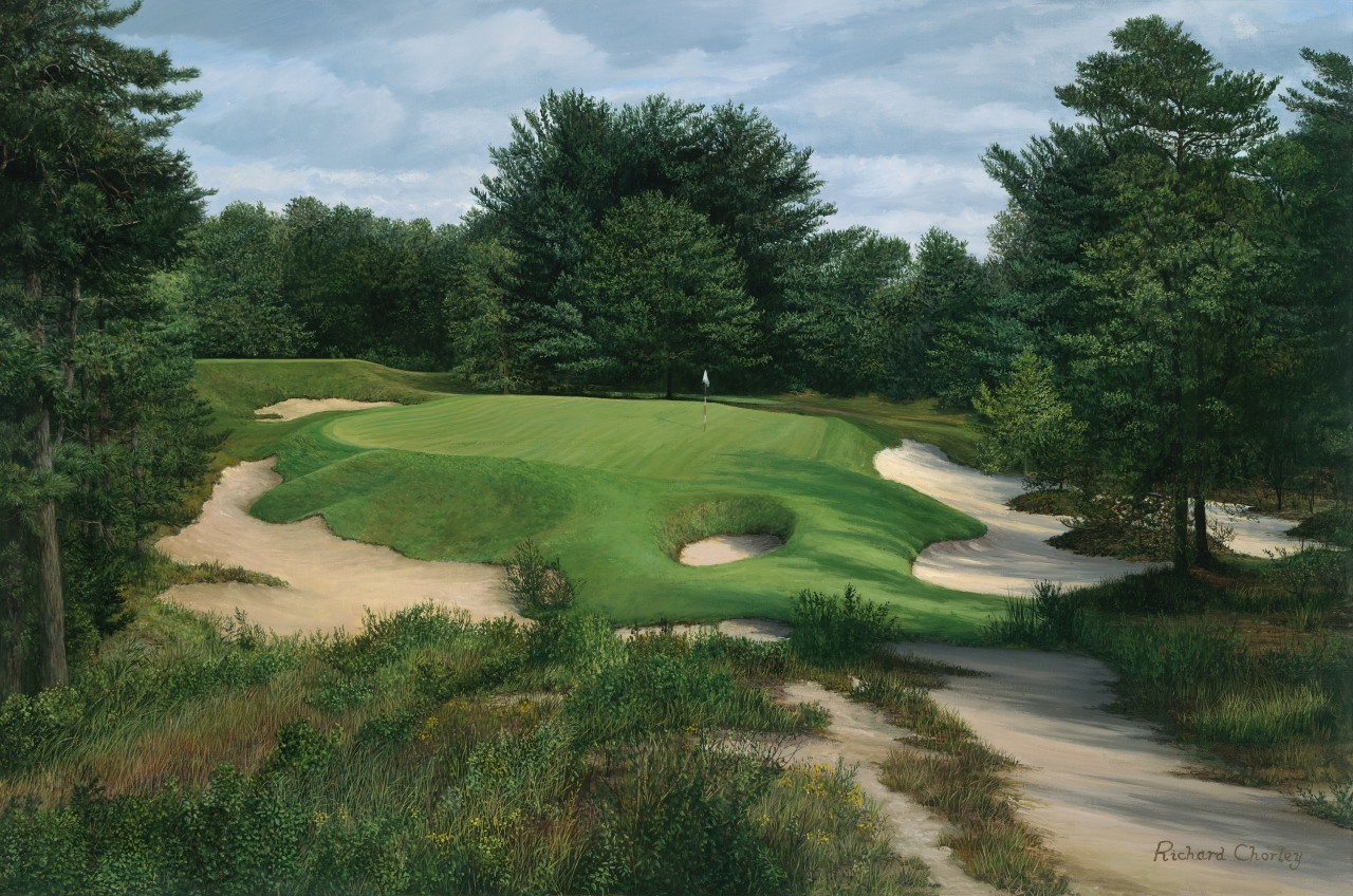 Pine Valley 10th Hole. Signed Limited Edition of 850-Fine ...