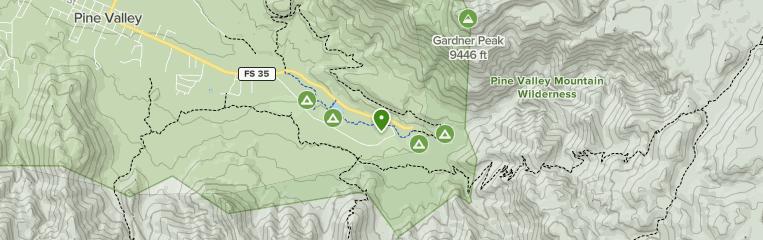 Best trails in Pine Valley Recreation Area (USFS), Utah ...