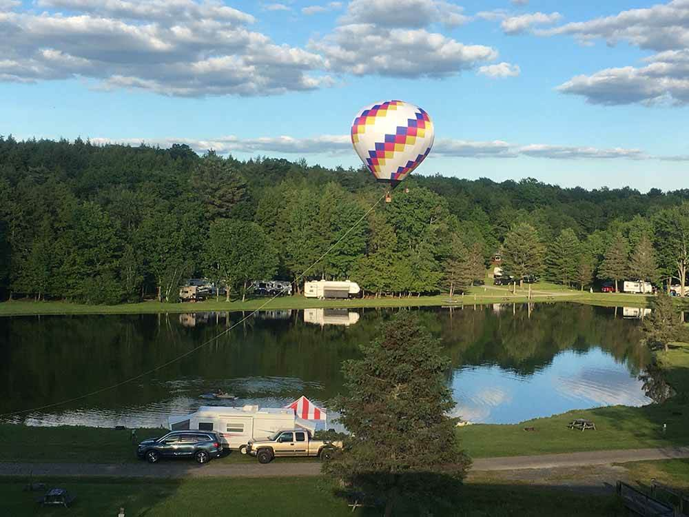 Pine Valley RV Park Campground - Endicott campgrounds ...