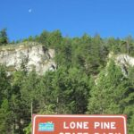 Valley View Parking Lot Lone Pine Kalispell Mt