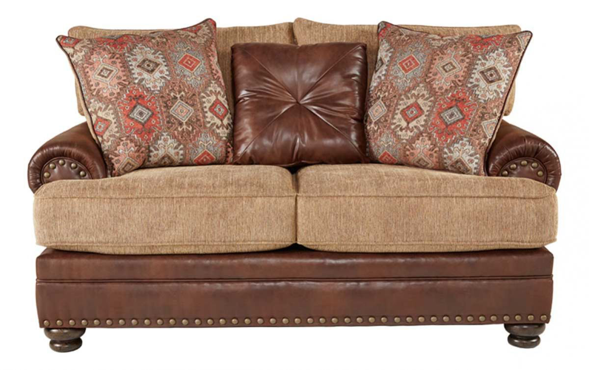 PINE VALLEY LOVESEAT | Badcock Home Furniture &more