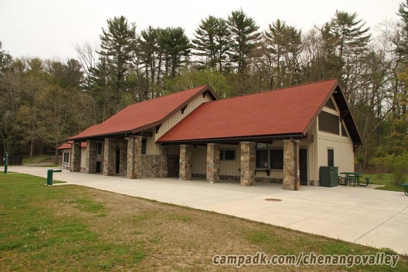 Chenango Valley State Park Campsite Photos