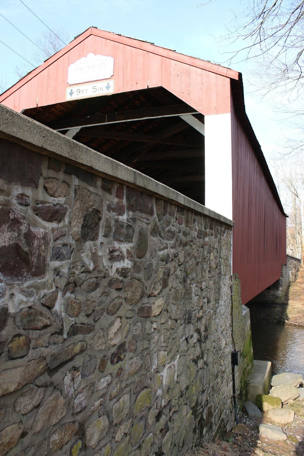 Pine Valley Covered Bridge: Near Doylestown, Bucks County ...