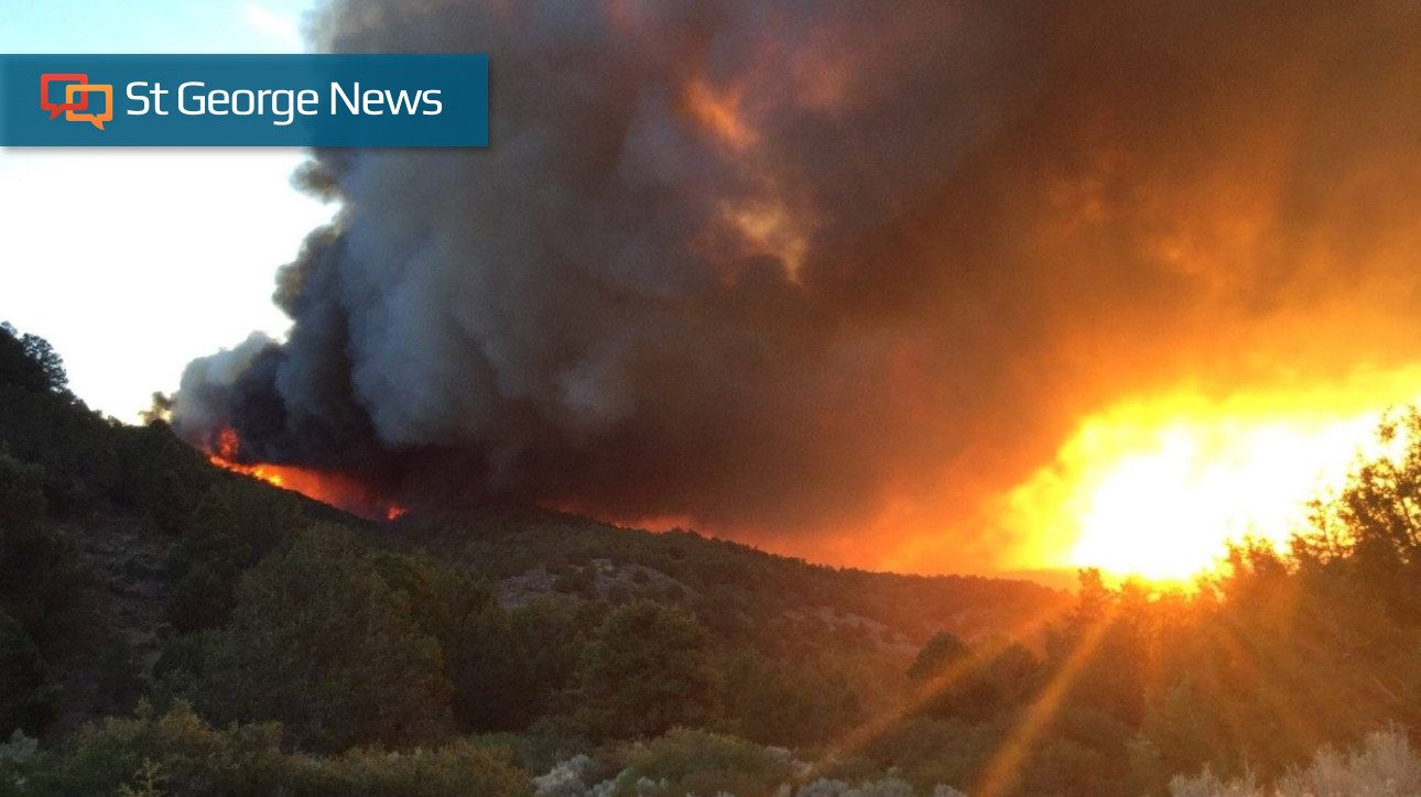 Southern Utah wildfires update: Firefighters making ...