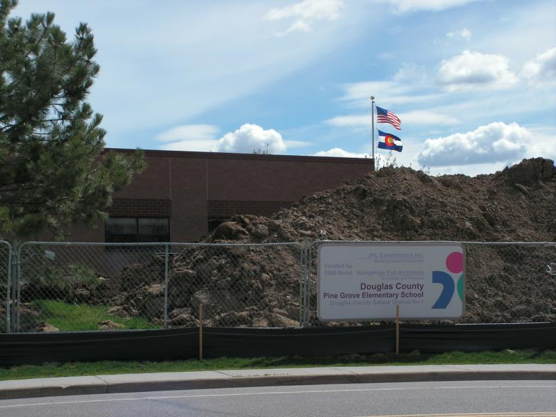 Pine Grove Elementary Construction Stonegate Village ...