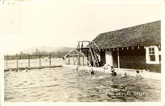 Postcards from Pine Valley, California - San Diego History ...
