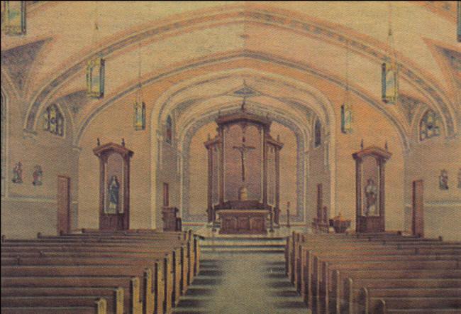 ST. Mary's parish, Neillsville, Pine Valley Twp., Clark Co ...
