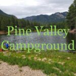 Tent Camping In Or Near Pine Valley Ca