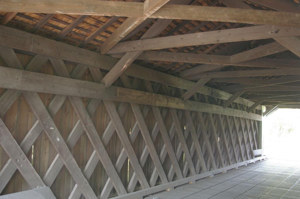 LandmarkHunter.com | Pine Valley Covered Bridge