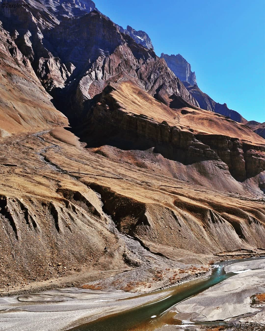 Pin Valley National Park - near Kaza in Himachal. Pin ...