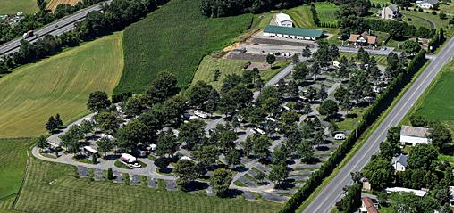Pine Hill RV Park :: Pennsylvania Dutch Country Big Rig ...