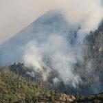 Fire In Pine Valley Utah 2018