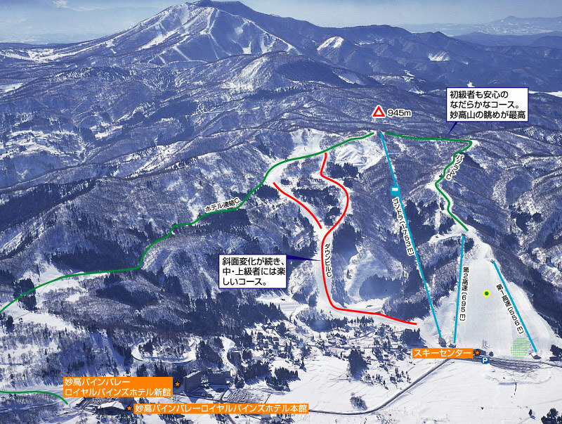 Myoko Pine Valley Ski Resort Guide, Location Map & Myoko ...