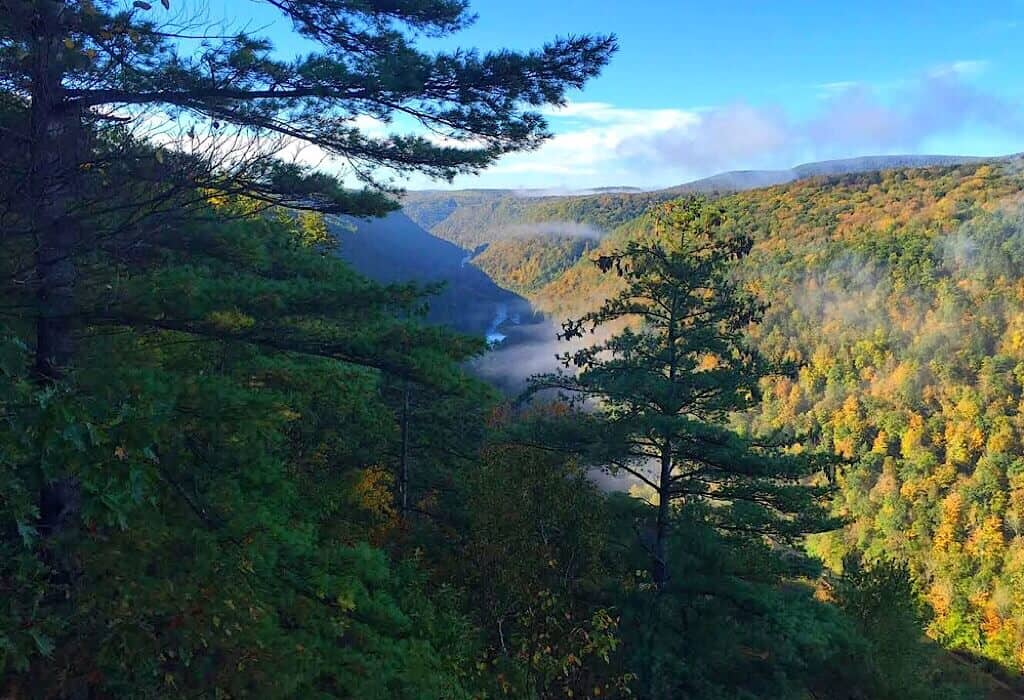 Wellsboro and the Pine Creek Valley - 43BlueDoors