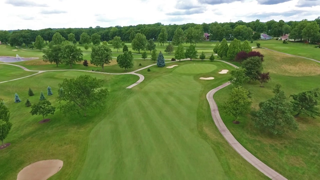 Pine Valley Country Club - Hole #8 Overview - YouTube