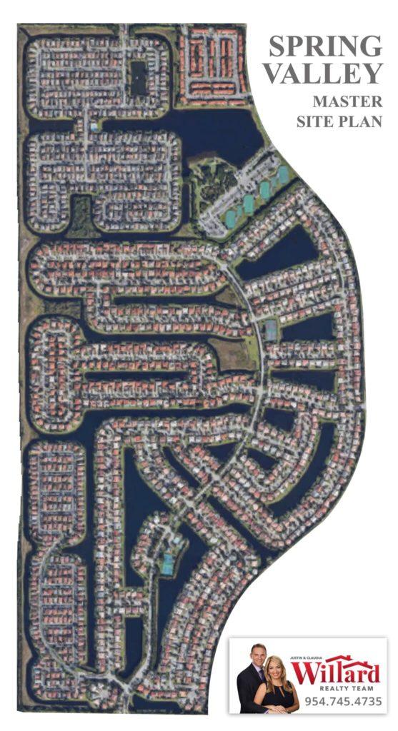 Spring Valley Site Plan - Pembroke Pines Florida Real ...
