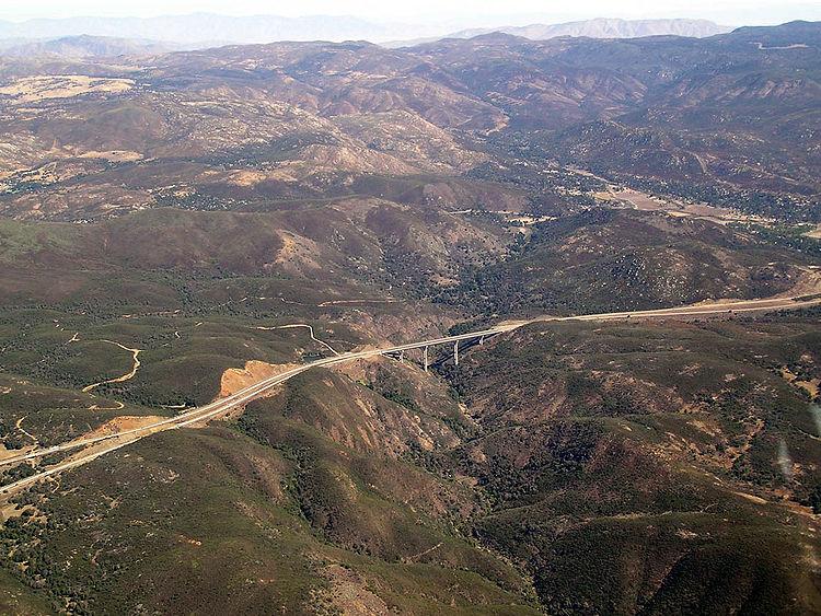 Pine Valley Creek Bridge - HighestBridges.com