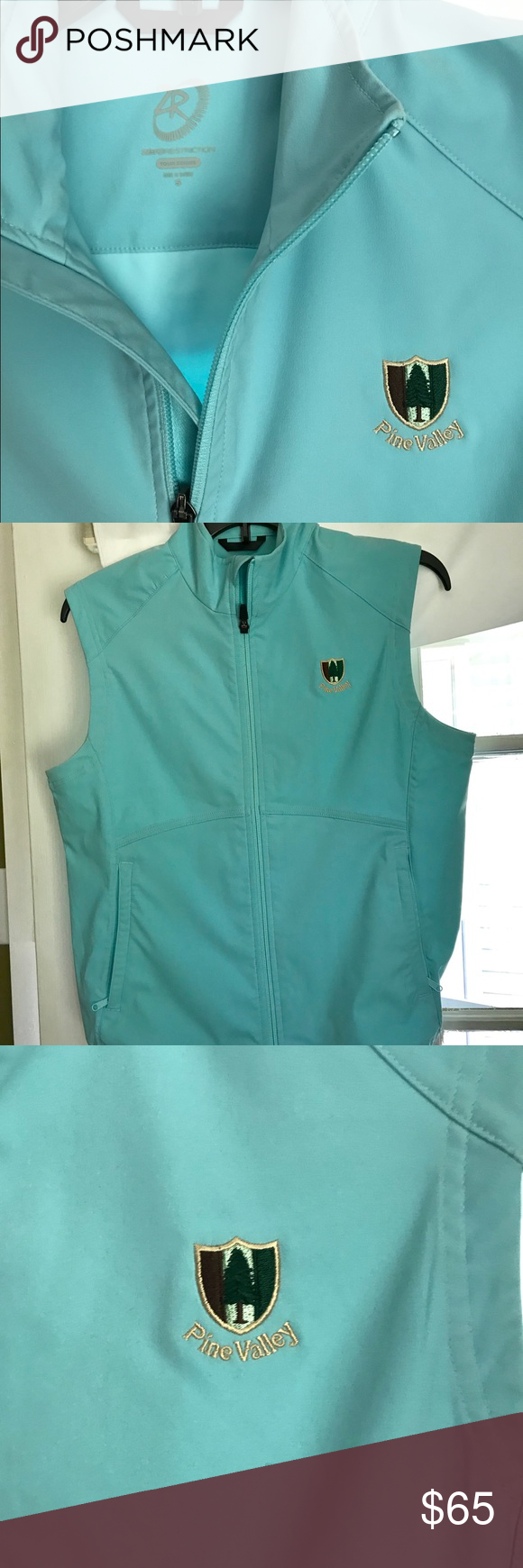 Pine Valley Golf vest. NWOT R2 women's vest   Golf vest ...
