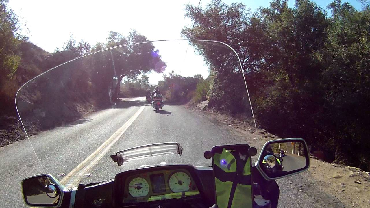 Ride to Pine Valley Ca - YouTube