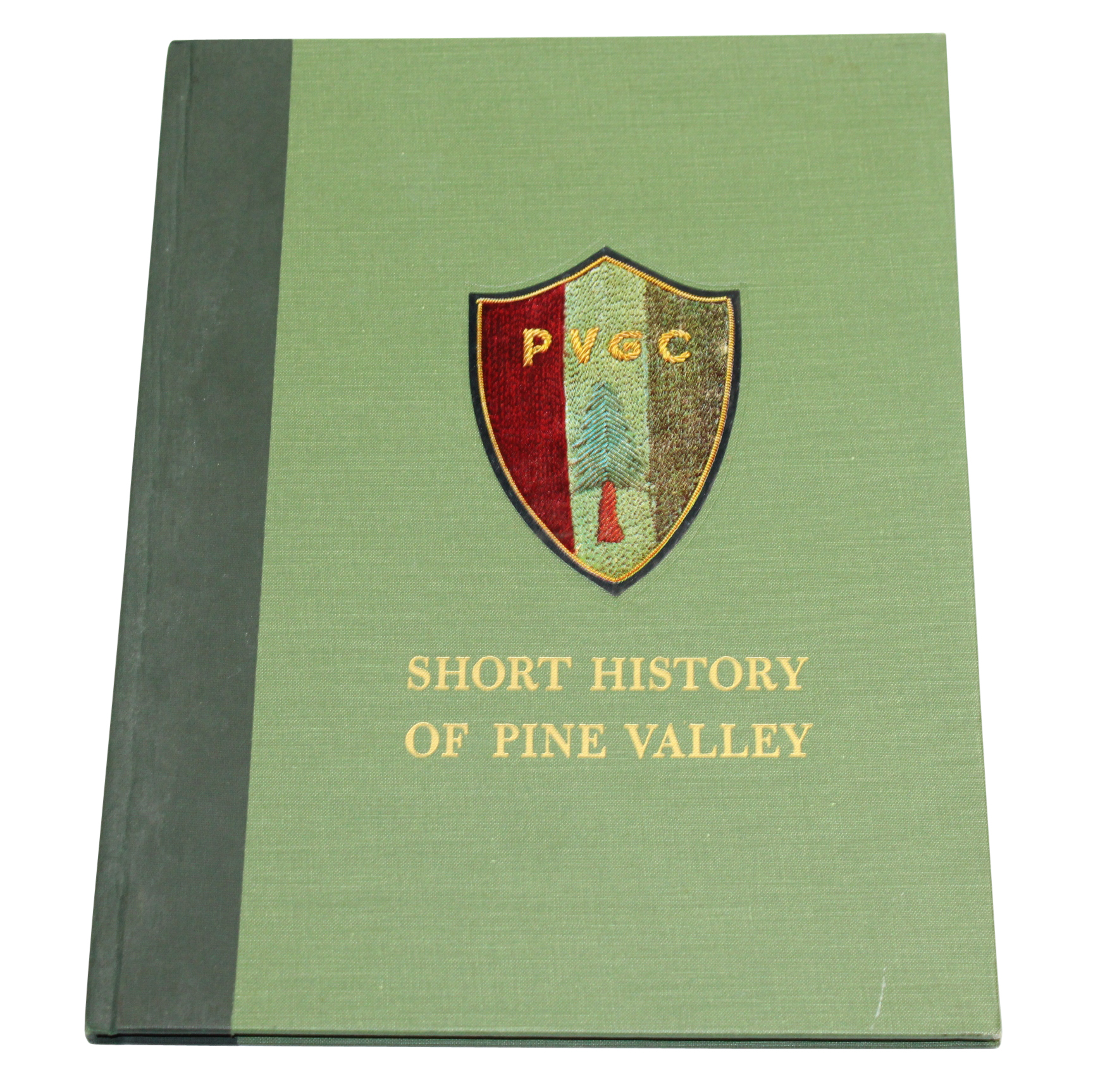 Lot Detail - 'A Short History of Pine Valley' Golf Book ...