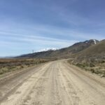 Pine Valley Road And Highway 92