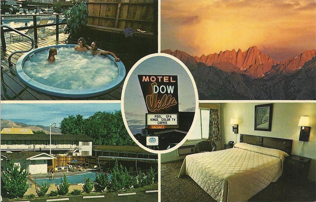 The Postcard Motel: Dow Villa Motel - Lone Pine, CA