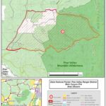 Whipple Trail Pine Valley Map