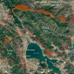 Pine Valley Fire 2018 Map