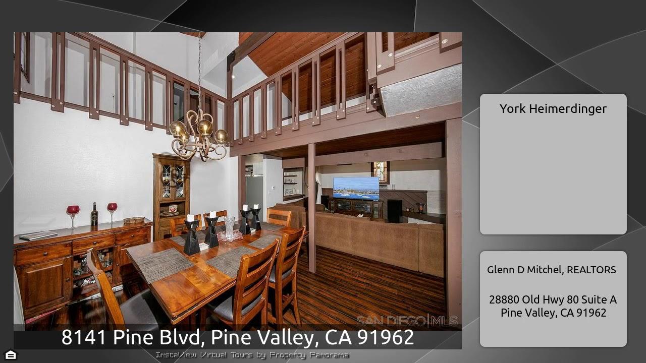 8141 Pine Blvd, Pine Valley, CA 91962 - YouTube