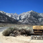 Redwood Valley To Lone Pine California
