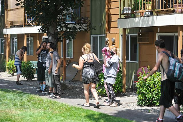 Fire breaks out in Valley Pines Apartments in Medford ...