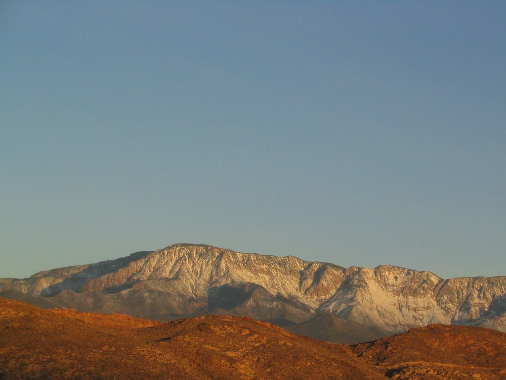 Pine Valley Mountains from Hurricane, Utah | The Pine ...