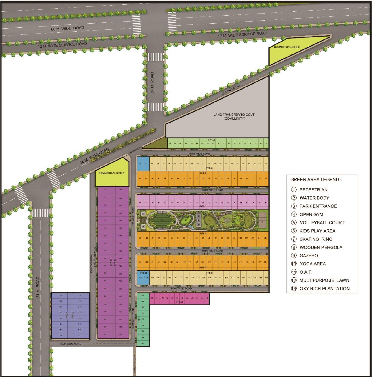 Rambha Corona Greens DDJAY Affordable Plots Sector 5 Sohna