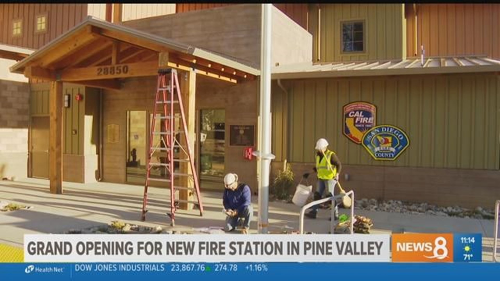 Grand opening celebration for new fire station in Pine ...