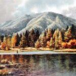 Pine Valley Reservoir Utah Size