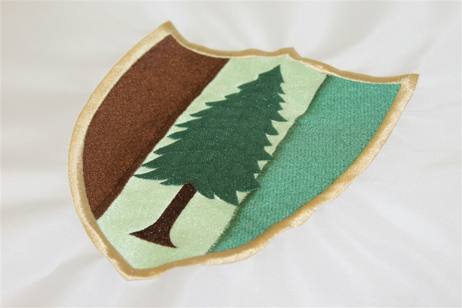 Lot Detail - Pine Valley Golf Club Members Embroidered Flag