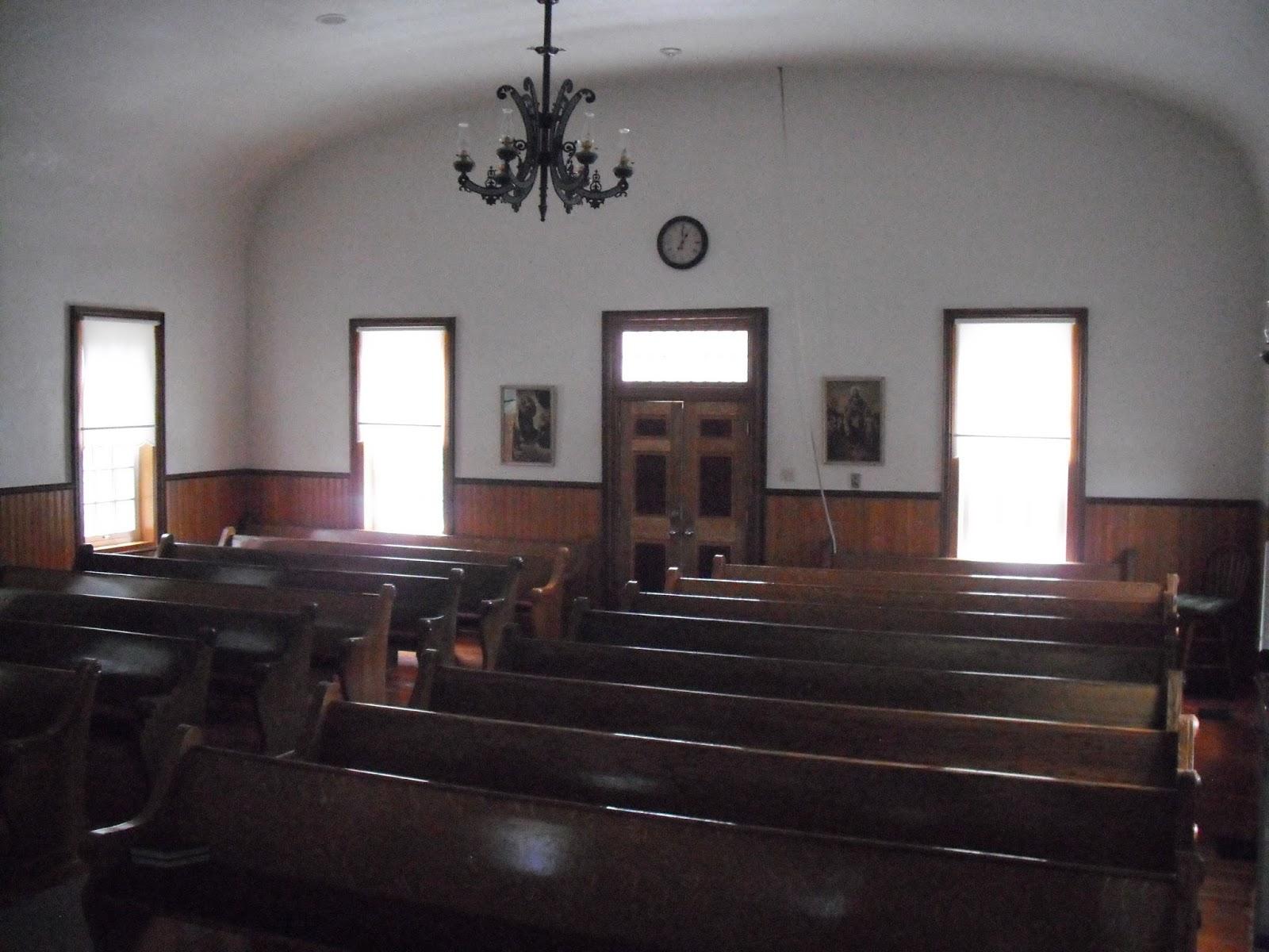 Historic LDS Architecture: Pine Valley Branch: Chapel Interior