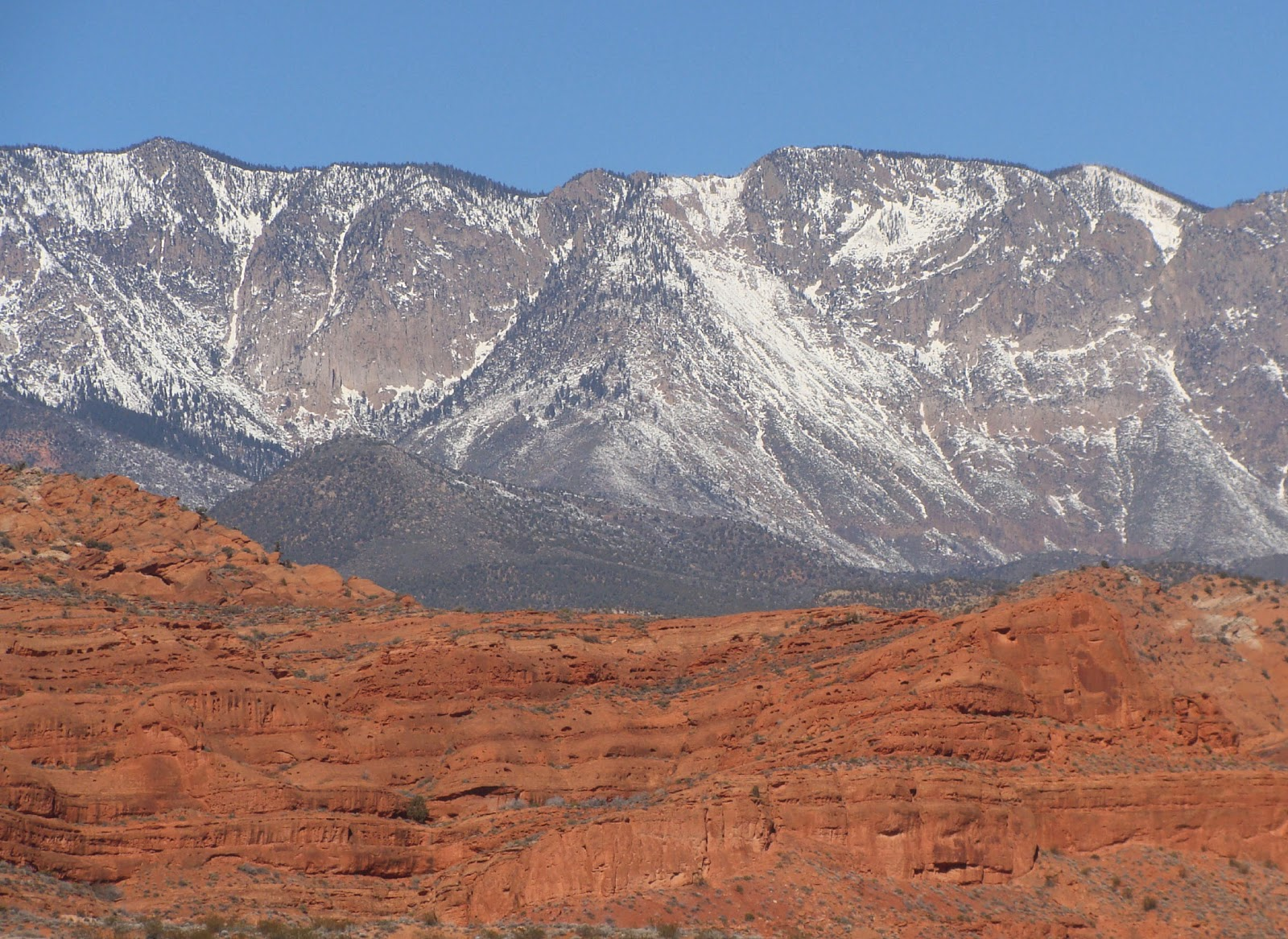 Urth Picture Post: Red Cliffs, Washington County, Utah ...