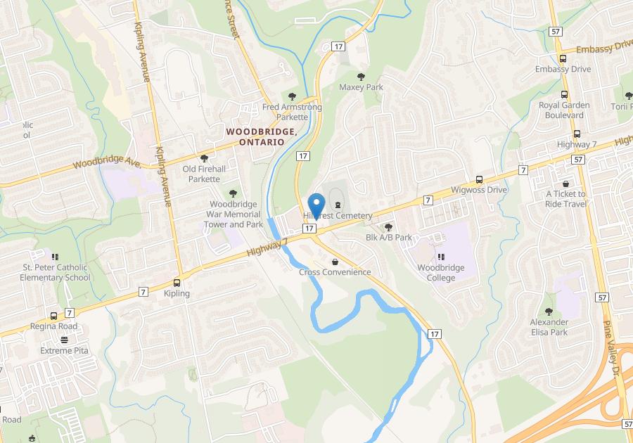 PINE VALLEY-HWY 7, Woodbridge , ON : 1 Bedroom for rent ...