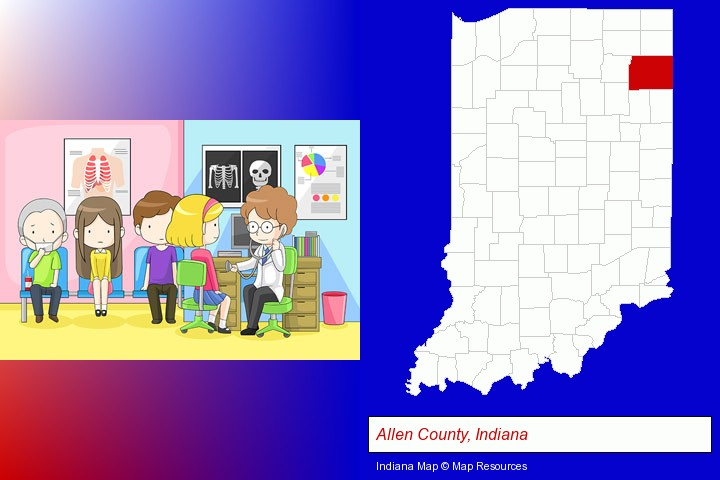 Clinics & Medical Centers in Allen County, Indiana