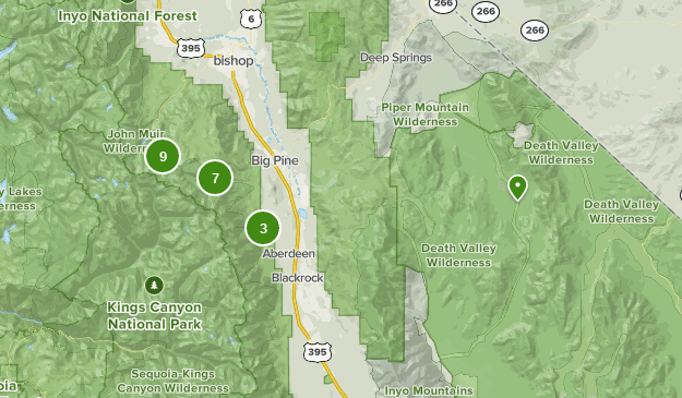 Best Camping Trails near Big Pine, California | AllTrails